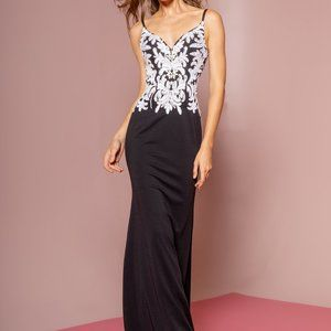 Sweetheart Neck Sleeveless Prom Dress GSGL1384